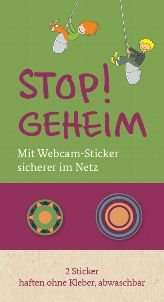 Anti-Webcam-Sticker vom Familienministerium (MAX 5 BÖGEN)