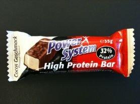 [Müller] Power System High Protein Bar Eiweißriegel 0,36 Euro (- 20%)