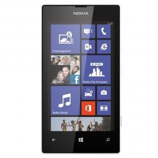 """Nokia™ - Lumia 520 Smartphone (Gelb)  (4"""" IPS 800x480,DC CPU,8GB,5MP/AF Cam,WP 8) für 88€ @Mediamarkt"""