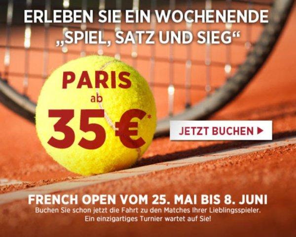 Bahn: Paris ab Deutschland im Thalys 35,- € je Strecke (Mai)