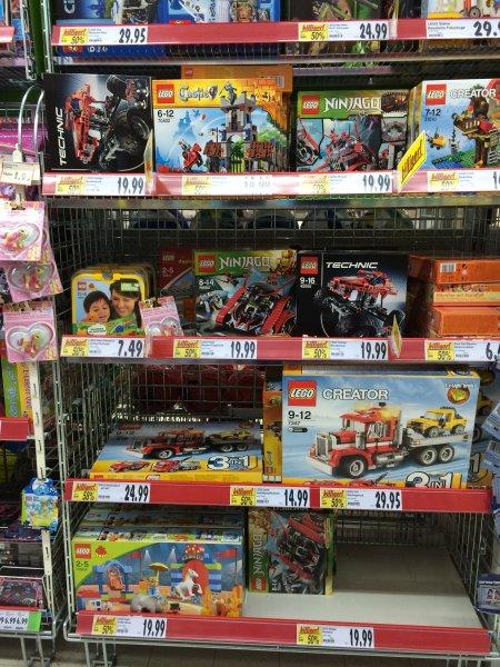 Lokal Kaufland - Div. Lego -50% - z.B. Lego City 60008 - Museums-Raub 29,95