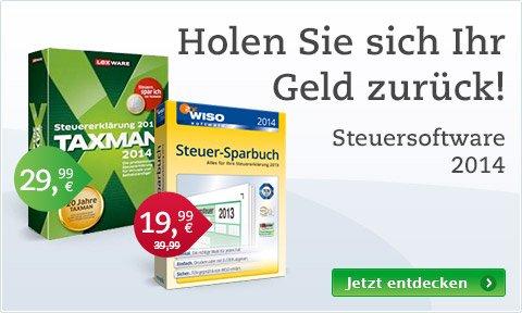 WISO Steuer-Sparbuch 2014 (Retail) 17,77€ bei Thalia.de
