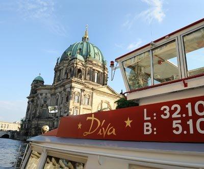 3-stündige City Tour auf der Spree für Zwei in Berlin für 16€ statt 32€ (pro Person 8€) 50%Rabatt bei DailyDeal