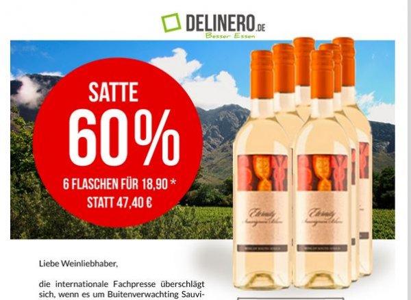 Wein Set -60% (Delinero) 24,90 statt 53,30