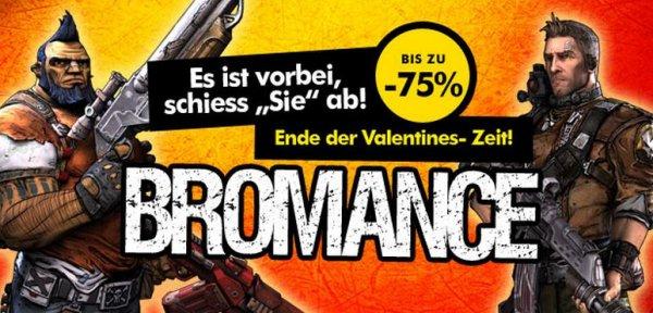 Gamesplanet Bromance Deal [Borderlands 2, Civilization IV & V, etc. -75%]