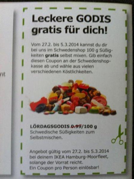 [IKEA Hamburg-Moorfleet] 100g gratis Süßigkeiten zum selbst mischen