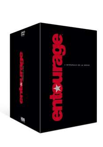 Entourage alle 8 Staffeln (Sprache Englisch/Französisch) auf DVD für 38,23€ inkl. Versand bei amazon.fr