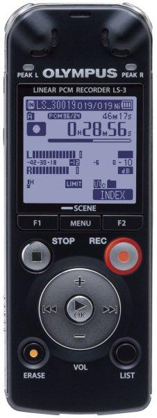 [amazon.de] Olympus LS-3 Digitaler PCM-Rekorder (4 GB interner Speicher, 24bit/96kHz)