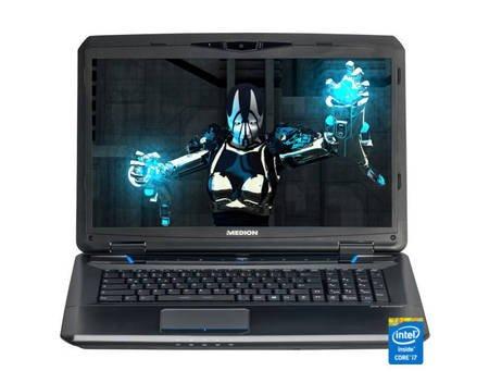 Medion Erazer X7827 Gamer Laptop GTX 780M, i7-4700MQ,16GB RAM, 128GB SSD 1TB HDD