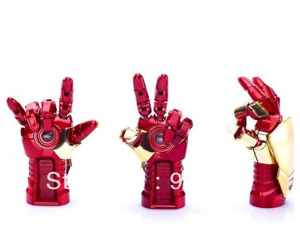 (CN) 8 GB Iron Man Hand USB Stick für 6,59€ @ Aliexpress