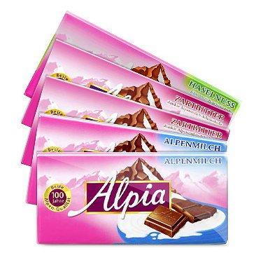 Alpia Schokolade ab 3 Tafeln je für 0,35€ ab 03.03 bei REWE BUNDESWEIT?