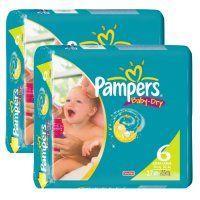 PAMPERS Baby Dry - XXL 16+ kg bei Schlecker.de 2x27 für 14,98