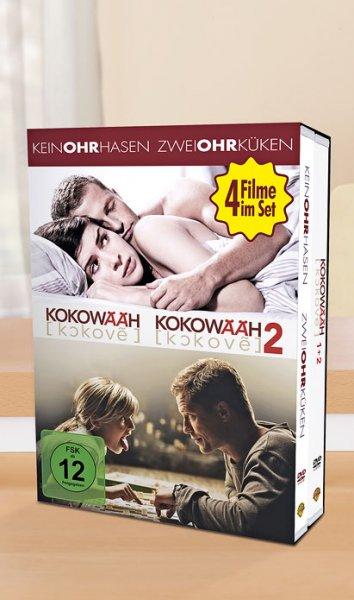 [Kaufland] Keinohrhasen & Zweiohrküken & Kokowääh 1+2 alle 4 Filme zusammen als DVD-Boxset für 14,99 Euro