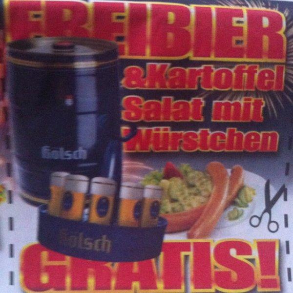 [lokal] FREIBIER & Kartoffelsalat mit Würstchen gratis bei Möbel Trösser