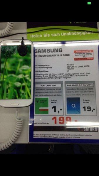 Samsung Galaxy S3 @ Saturn Baunatal