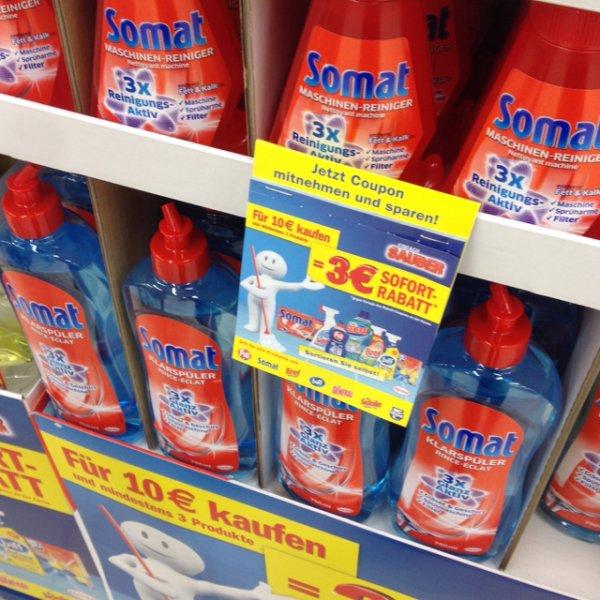 Henkel Sofortrabatt 3€ beim Kauf für 10€ - Kaufland