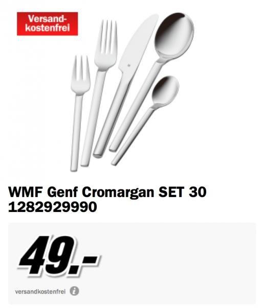 [Mediamarkt] WMF Genf Cromargan SET 30