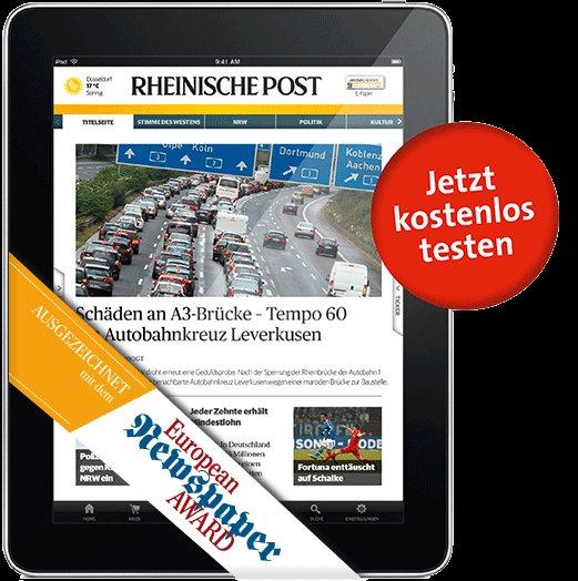 4 Wochen EPAPER Rheinische Post -- I-App oder PDF