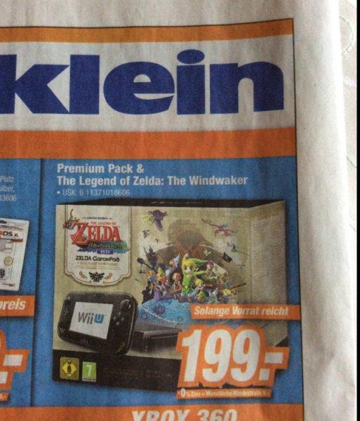 Wii U Premium 32 GB Zelda Windwaker Edition @ Expert Klei