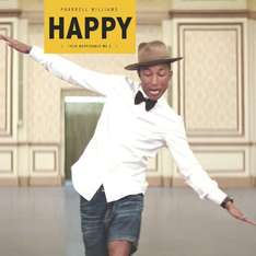 [Amazon Prime oder zum Mitbestellen] Pharrell Williams' Happy als Vinyl-Maxi-Single für 2,99 €