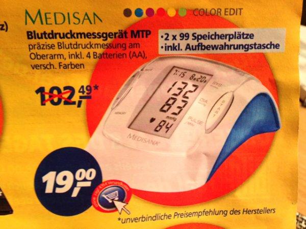 Medisana Blutdruckmessgerät MTP
