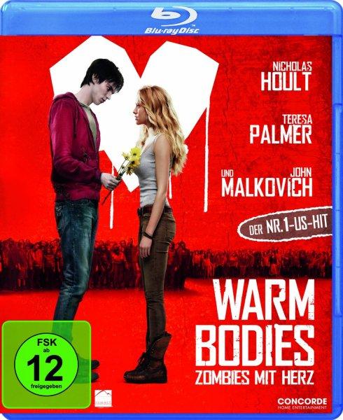 [amazon.de] Warm Bodies [Blu-ray] für 6,90 € (Prime oder Hermes)