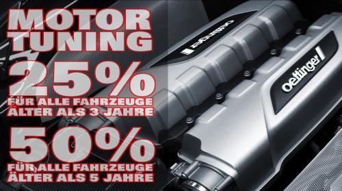 Hundert Prozent OETTINGER Power bis zu 50% Rabatt bei AS Autotechnik im Saarland