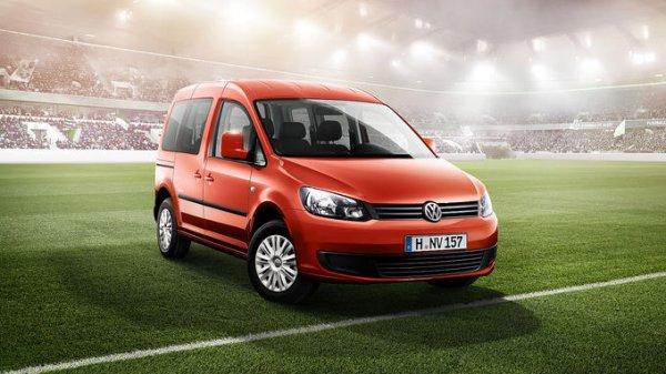 VW Caddy Soccer ohne Schnickschnack für Familien