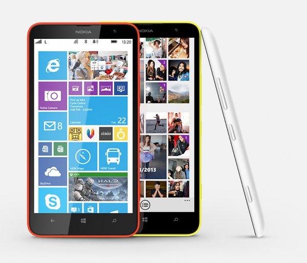 Nokia Lumia 1320 Schwarz & Weiß für 289,95€ + VSK @Getgoods & HOH