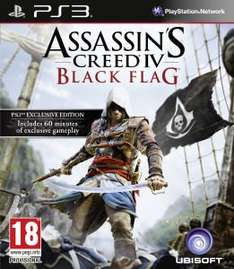 Assassin's Creed 4: Black Flag PS3/Xbox360 für 29.06 Euro