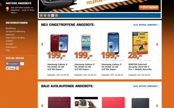 Samsung Galaxy S III i9300 16 GB