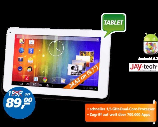 JAY-tech Multimedia-Tablet-PC 9000 für 89,-€ evt. 84,-€