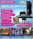 Microsoft Xbox 360 slim 4GB Kinect Set 265€ inkl. Versand