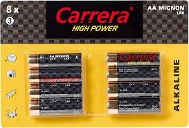 "BATTERIEN ""CARRERA"" Alkaline (AAA, 8er Pack);(AA, 8er Pack);(9V Block,4er Pack);(D Mono,2er Pack) für jeweils 1€ bei WOOLWORTH"