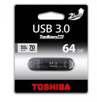 Toshiba TransMemory-MX 64GB USB 3.0 Stick 28,98 € @Meinpaket