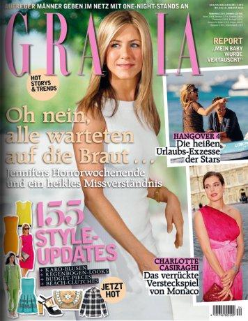Grazia Jahresabo für 0,24€/Ausgabe