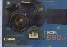 Canon EOS 60D + 18-135mm IS 690€ Lokal [Saturn Regensburg]