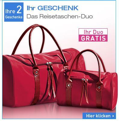 Handelexier und  Reisetaschen Duo  VSK Frei bei Dr. Pierre Ricaude