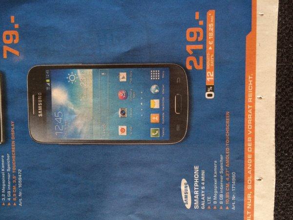 [Lokal Bremen] Samsung Galaxy S4 mini