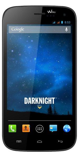 Wiko Darknight 8GB Dual-SIM dark blue Smartphone für 179 zzgl. Versand ab €2,99 Sofort lieferbar