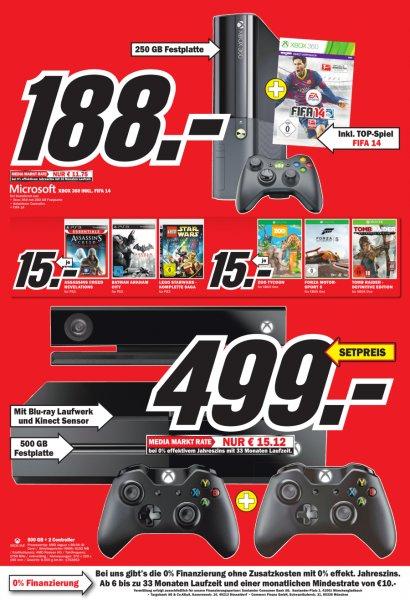 Forza Motorsport 5, Tomb Raider: Definitive Edition und Zoo Tycoon für die Xbox One für jeweils 15 EUR im Media Markt Weilheim