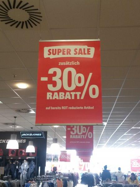 [Lokal Amberg Bayern]  30% auf bereits reduzierte Ware