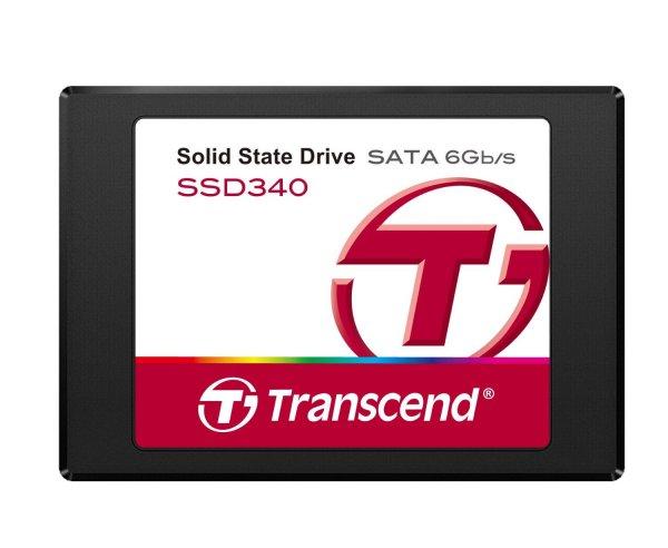 Transcend SSD TS128GSSD340 128GB (6,4 cm (2,5 Zoll), SATA III, MLC) für 59,90 € @Amazon.de