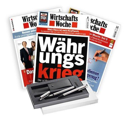 10 Ausgaben WiWO und Lamy Stifteset für 799 webmiles