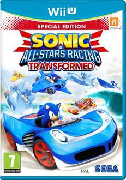 Nintendo Wii U - Sonic & Sega All-Stars Racing: Transformed (Limited Edition) für €16,97 [@Zavvi.com]