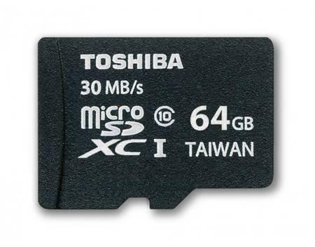 Toshiba MicroSDXC 64 GB Class 10 für 32,20€ @Mein Paket