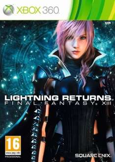 Lightning Returns: Final Fantasy XIII [Xbox 360] für 34€ @Zavvi