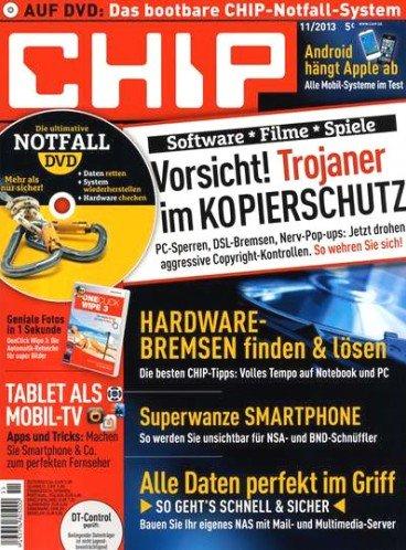 CHIP DVD-Prämienabo mit 10€ Gewinn