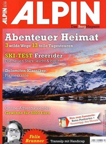 ALPIN - Prämienabo mit 50€ Bargeldprämie für 62,90€