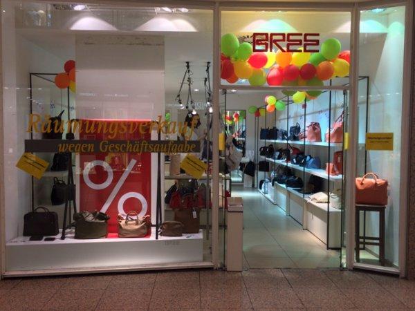 [Lokal Köln Rhein Center] BREE Taschen Räumungsverkauf